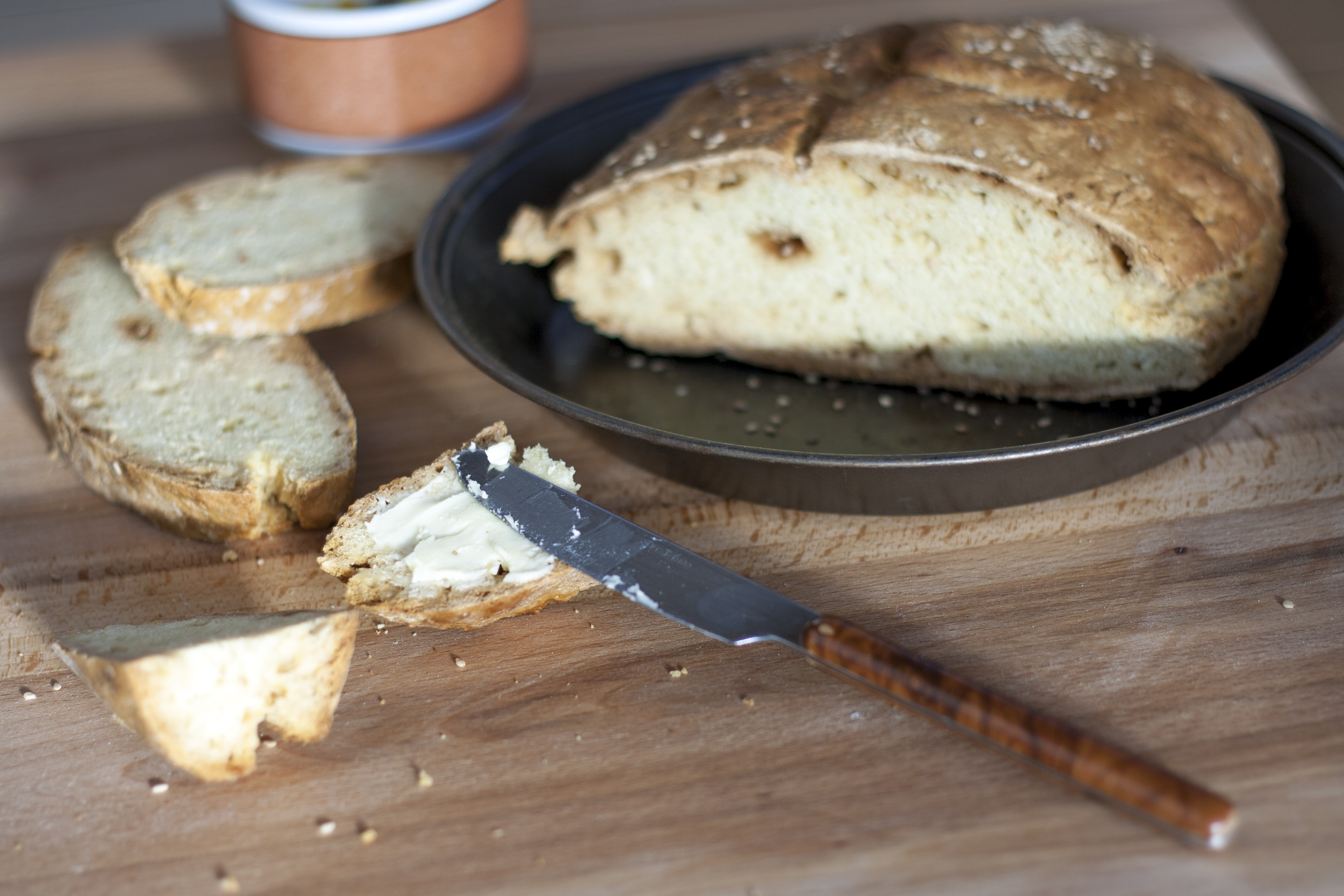 Pane irlandese o irish soda bread