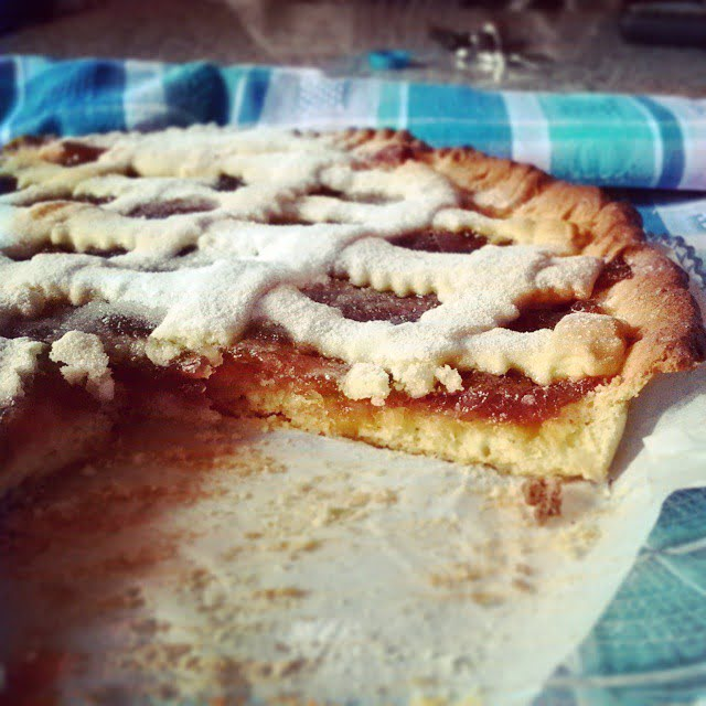 Crostata light con Marmellata d'Arance