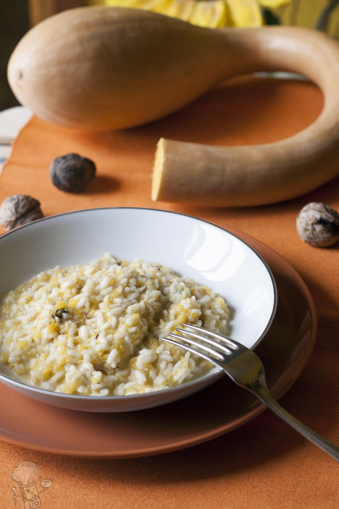 risotto zucca e gorgonzola al mascarpone