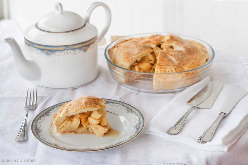 Apple pie di Nonna Papera faciel