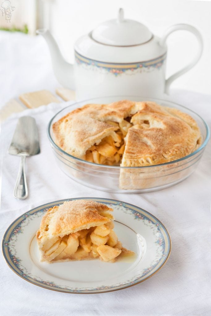 Apple pie di Nonna Papera