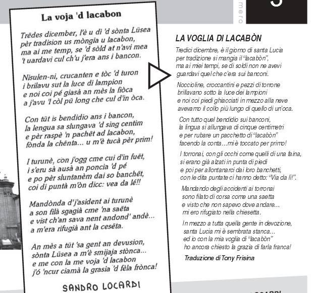 Lacabon di Santa Lucia - ricordo di Sandro Locardi