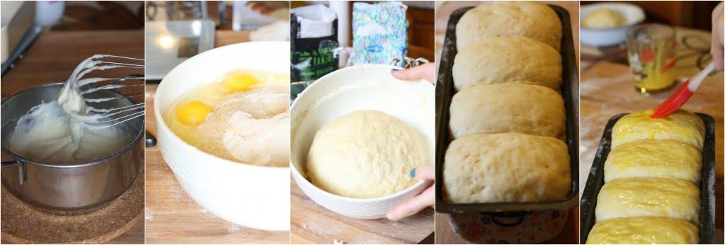 Pane di Hokkaido al latte stepbystep