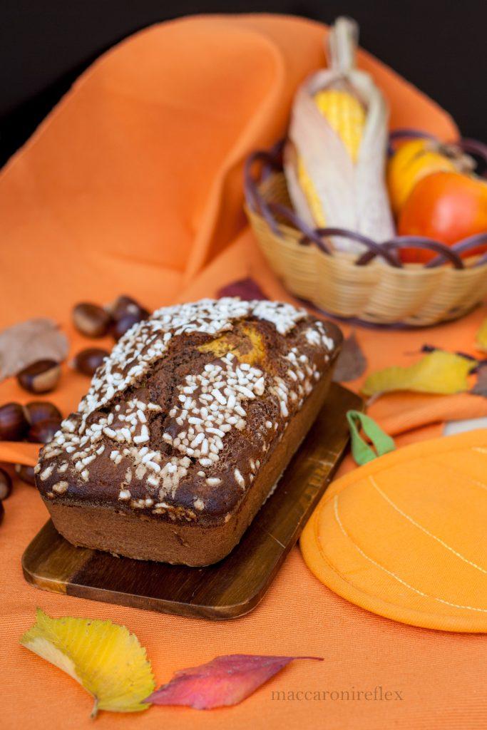 Plumcake di zucca e cacao