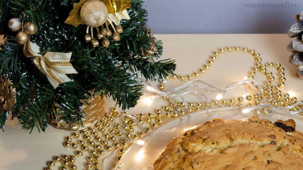 pandolce genovese basso - ricetta di Natale