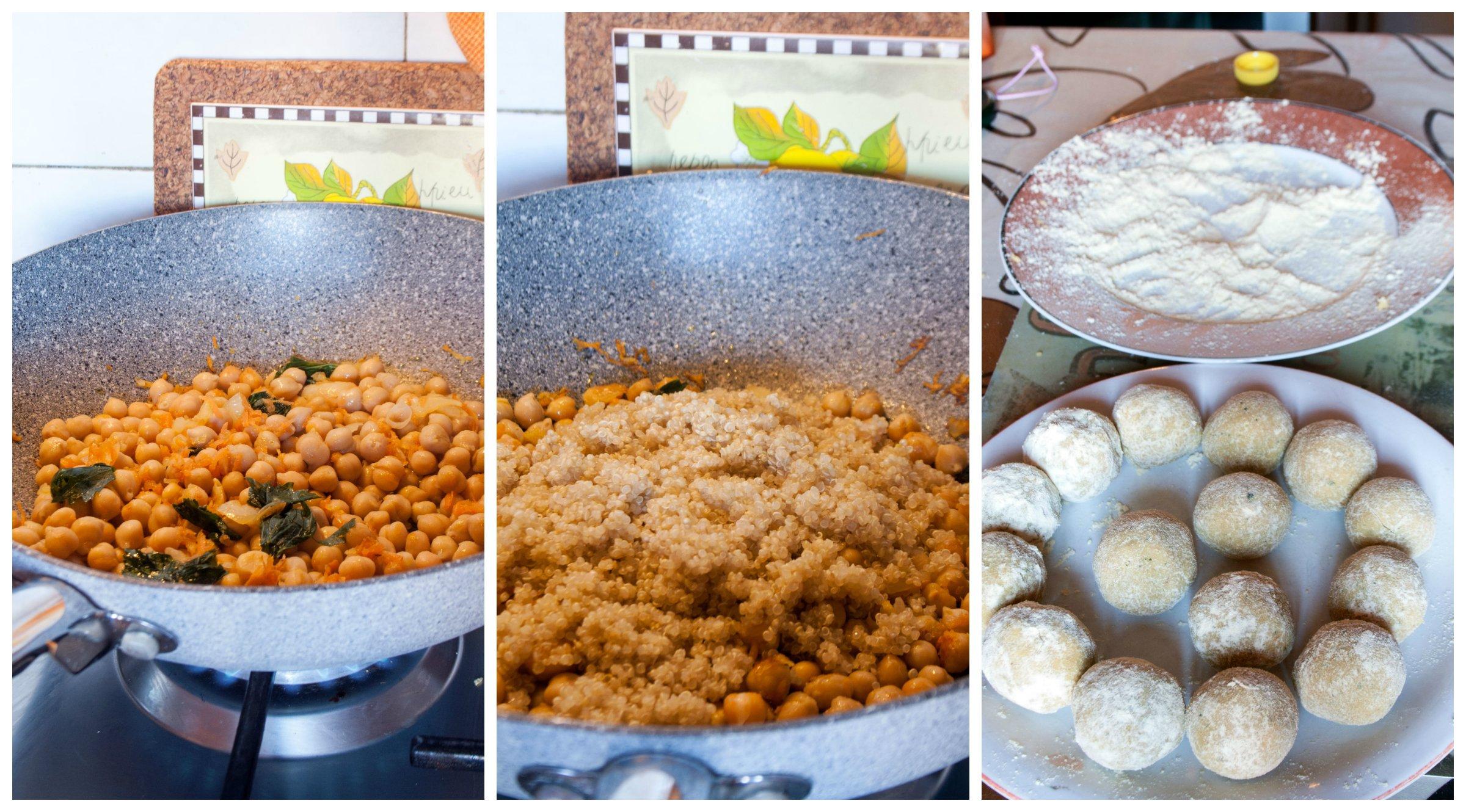 Falafel di ceci e quinoa