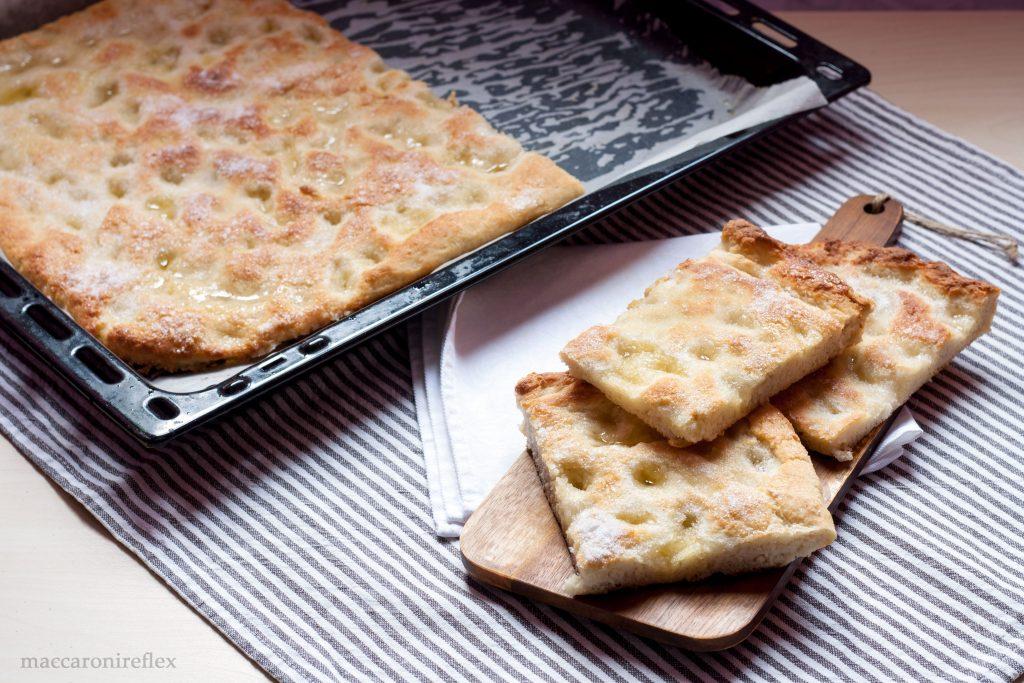 Focaccia dolce alessandrina - ricetta