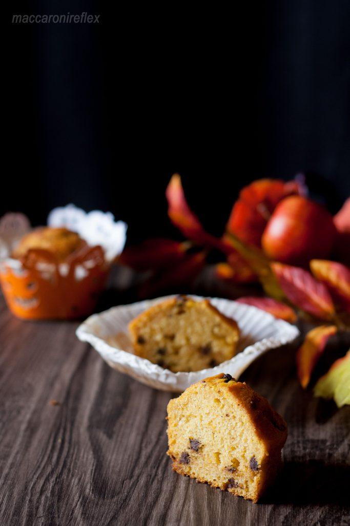 muffin-alla-zucca-e-gocce-cioccolato