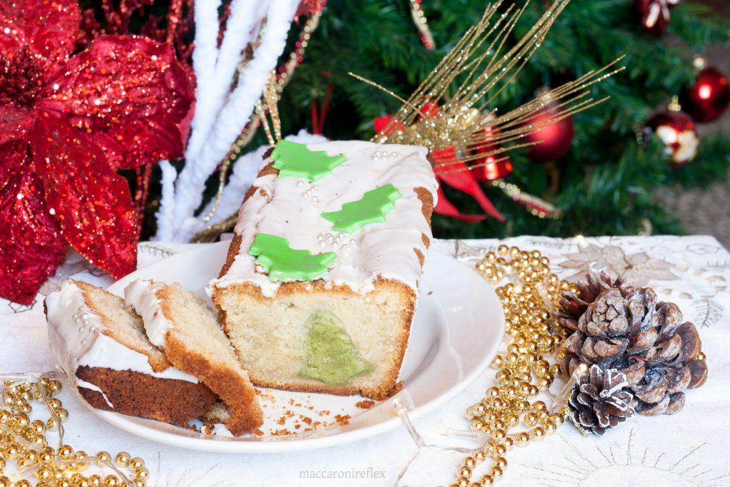 Plumcake con sorpresa di Natale ricetta dolce