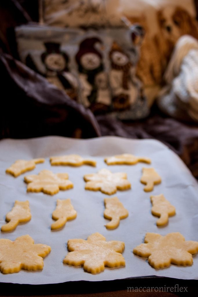 Biscotti natalizi all'arancia - la ricetta