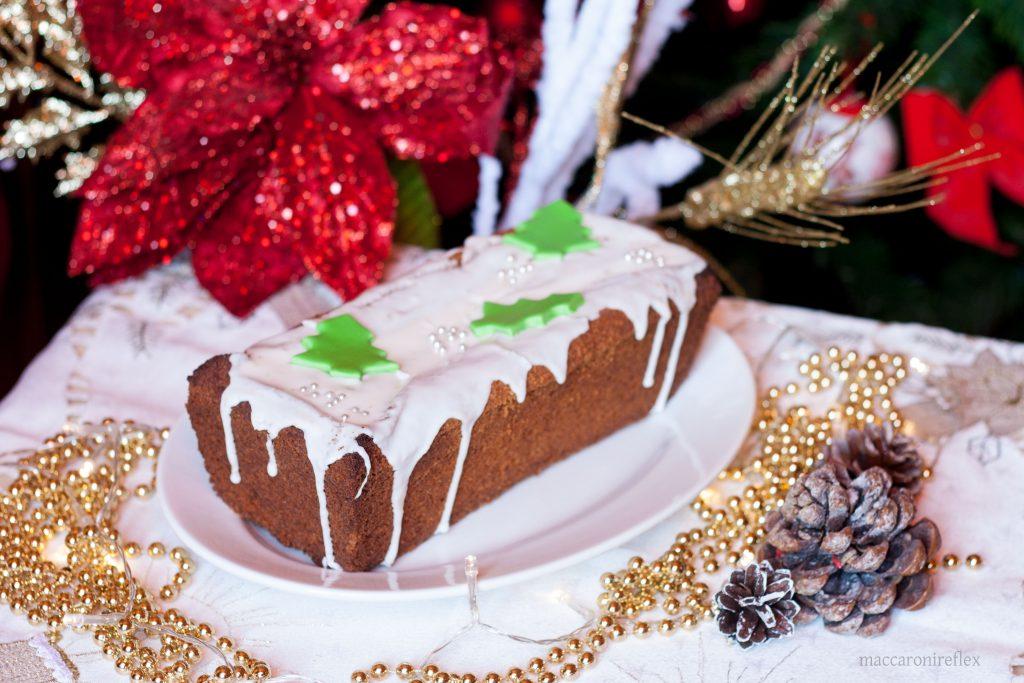 Plumcake con sorpresa di Natale dolce