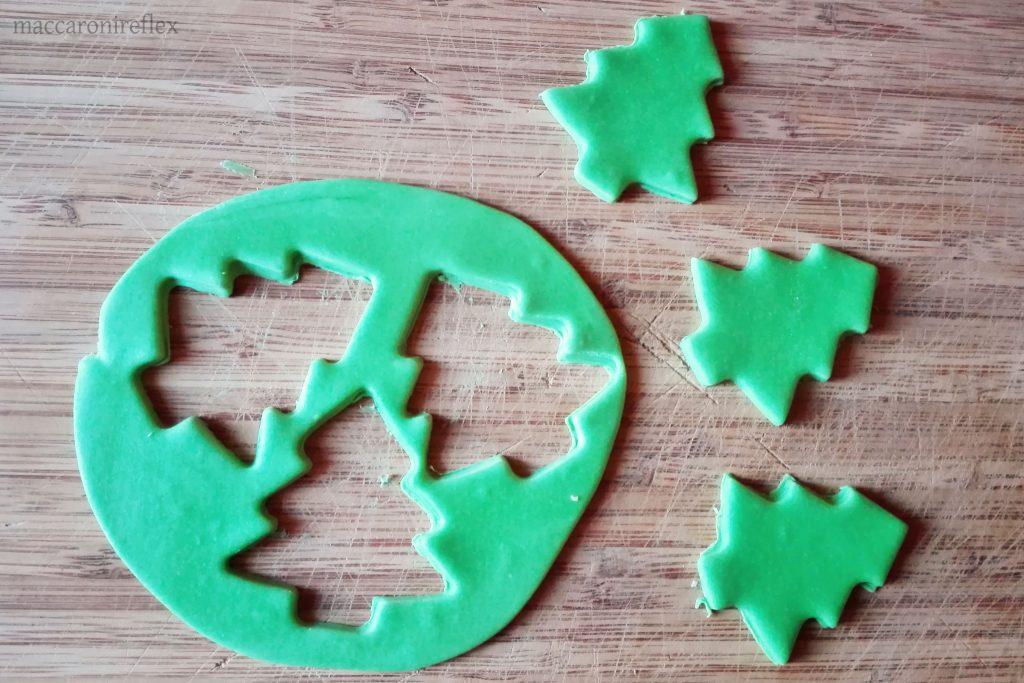 Plumcake con sorpresa di Natale all'interno alberelli