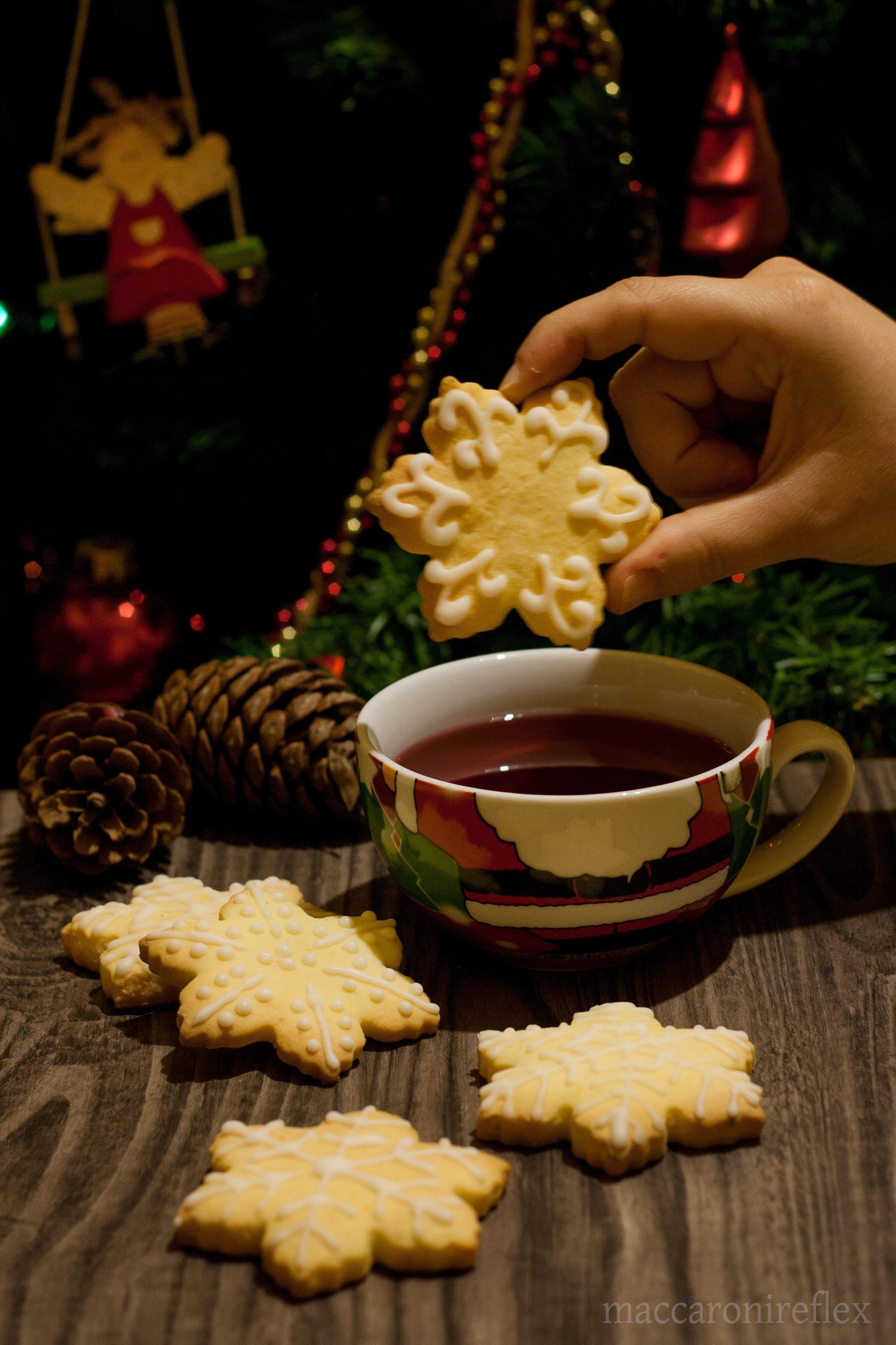 Biscotti natalizi all'arancia - ricetta di Natale