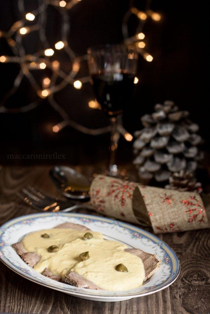 Vitello tonnato alla vecchia maniera - senza maionese