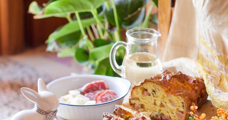 plumcake salato olive prosciutto - pranzo di pasqua