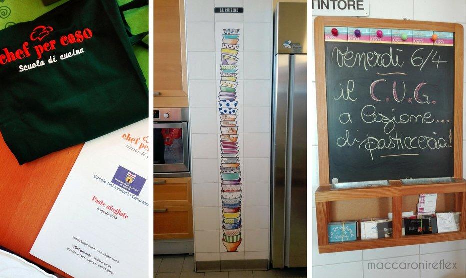 Lezione di pasticceria a Genova
