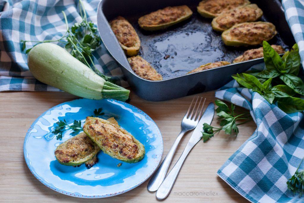 Zucchine ripiene al forno ricetta estiva