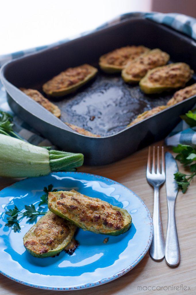 Zucchine ripiene al forno - Ricetta estiva della nonna