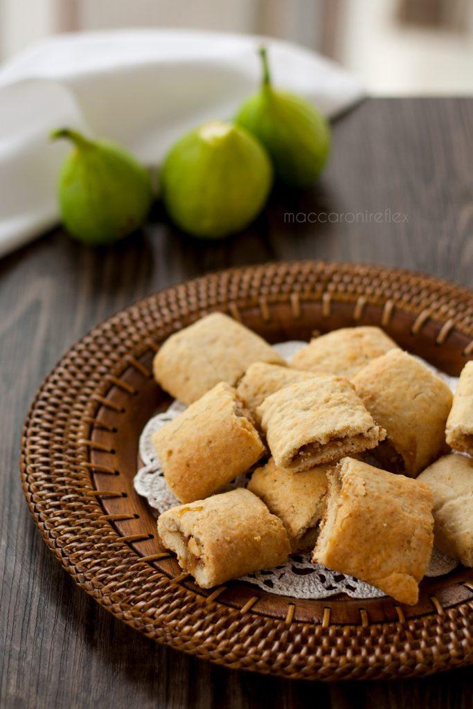 Biscotti morbidi con fichi freschi o settembrini