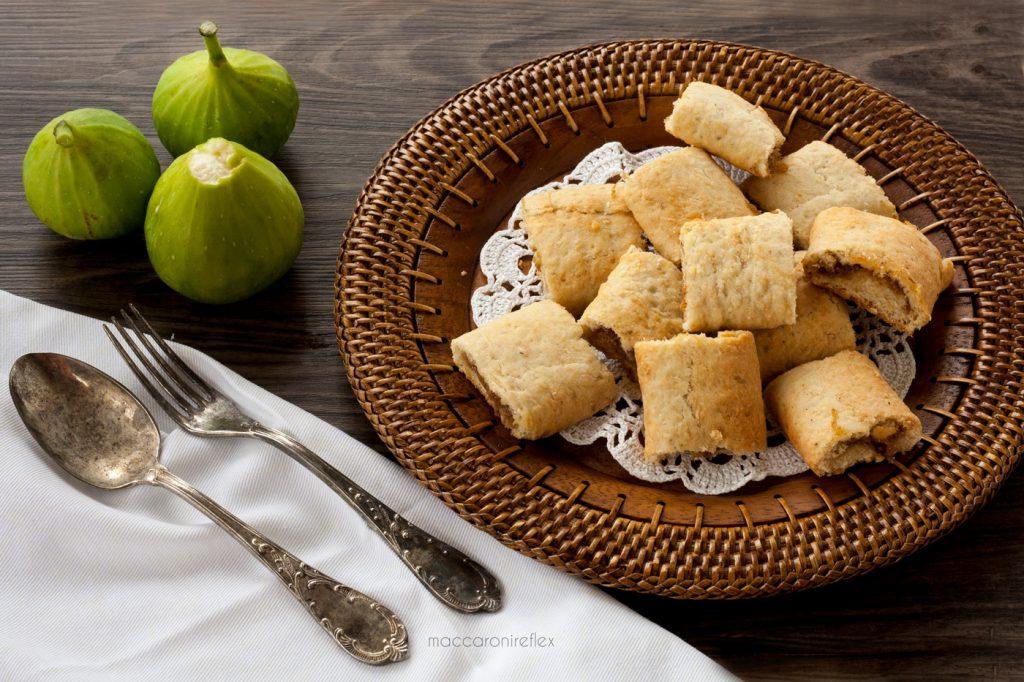 Biscotti morbidi con fichi freschi o biscotti settembrini