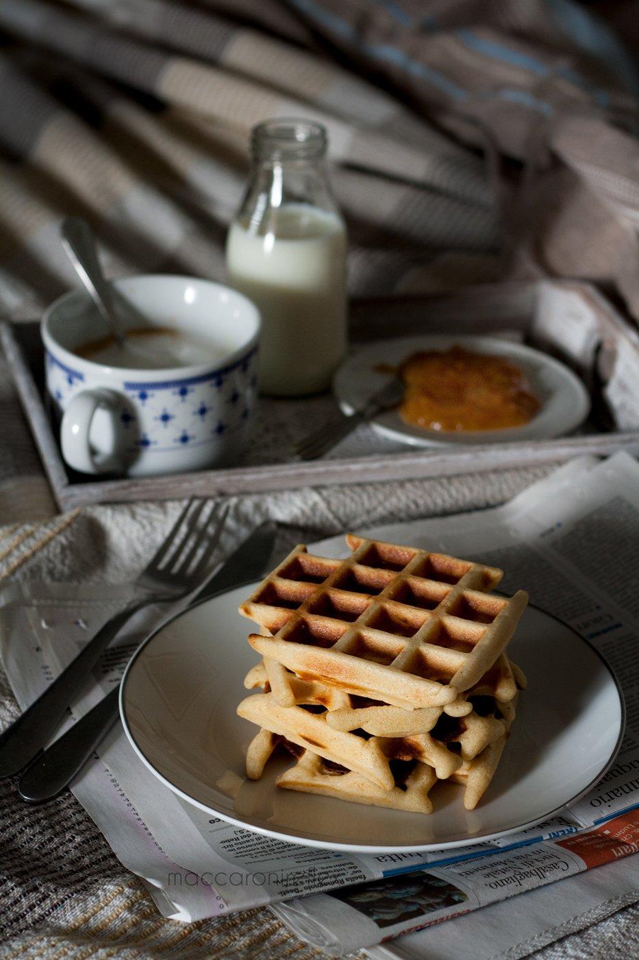 Waffle: ricetta americana per colazione
