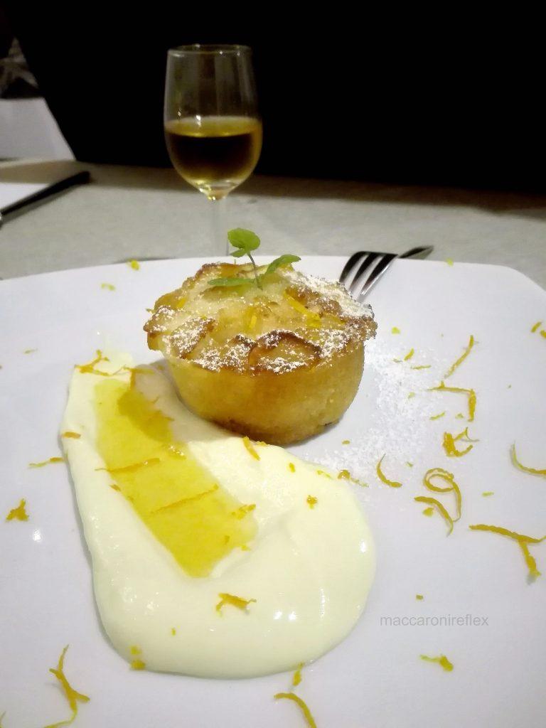 Ristorante Arcani a Genova Bolzaneto - tortino morbido di mela