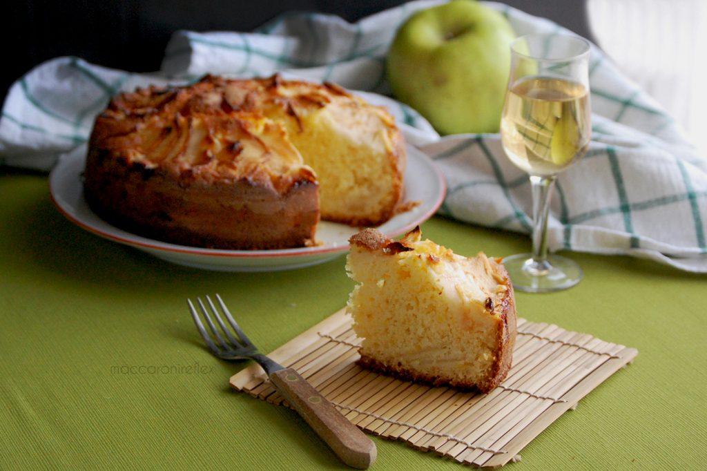 torta di mele della nonna morbida e facile