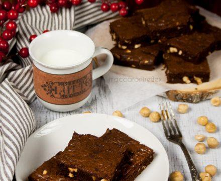 Brownies al cioccolato e nocciole