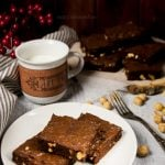 Brownies al cioccolato e nocciole ricetta originale americana