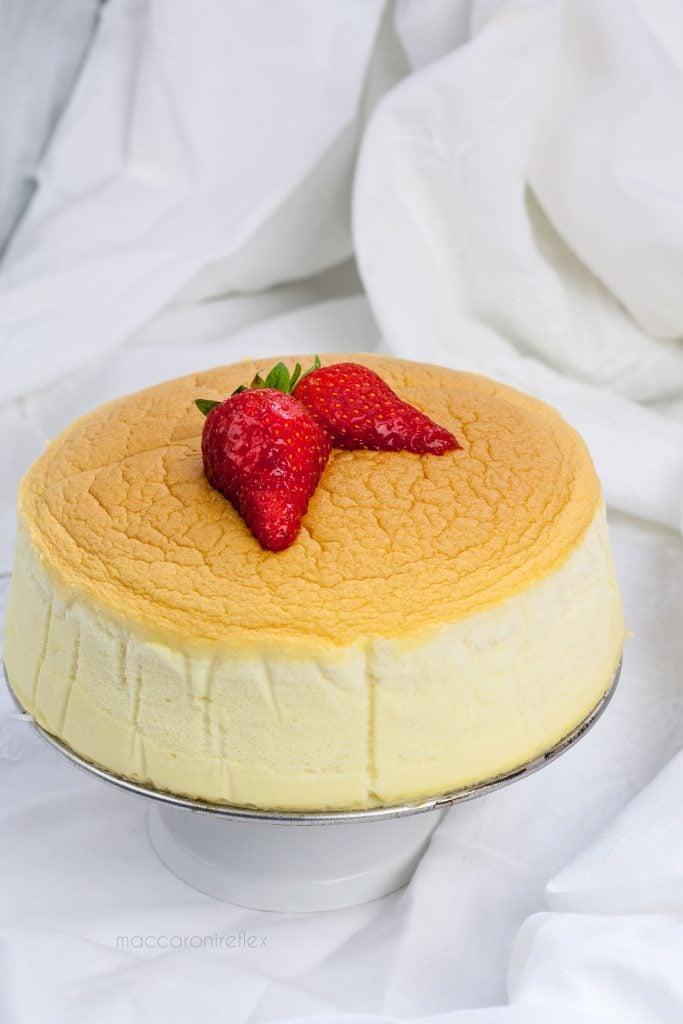 Japanese cheesecake giapponese - ricetta