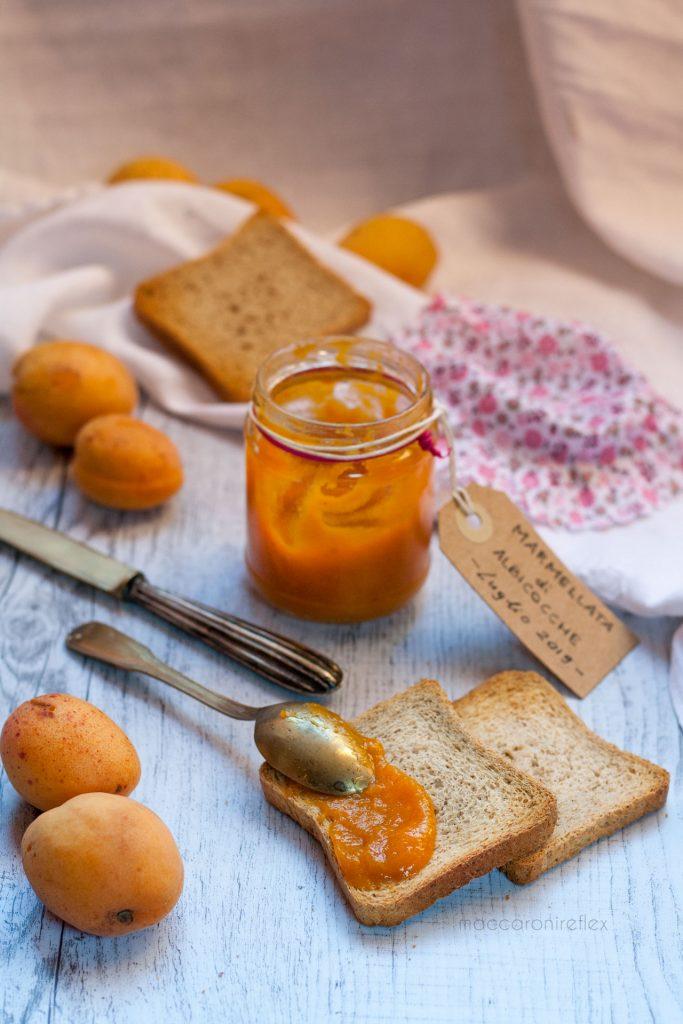 Marmellata di albicocche senza zucchero - confettura di albicocche senza zucchero