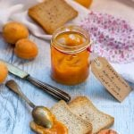 Marmellata di albicocche senza zucchero