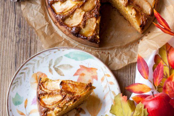Torta di mele e zucca