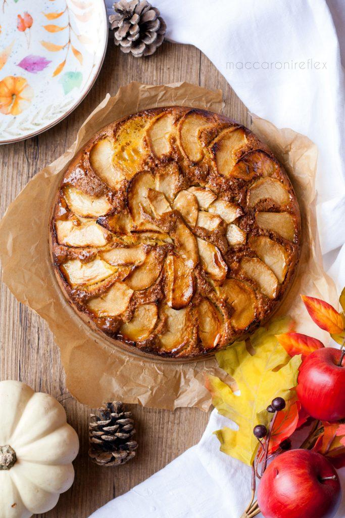 Torta di mele e zucca - ricetta autunnale