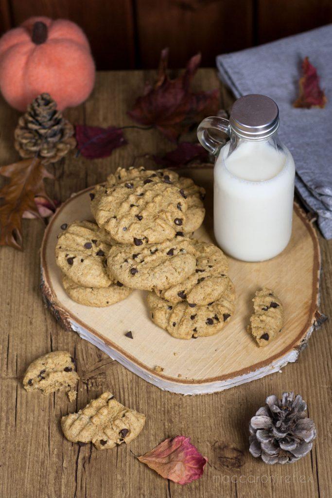 Cookies integrali con gocce di cioccolato - dieta senza rinunce