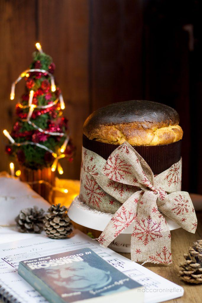 Panettone di Rossini per Natale