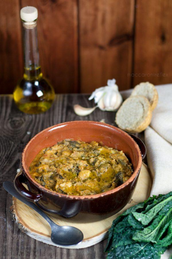 Ribollita, zuppa toscana con cavolo nero