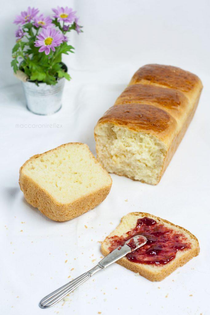 Pane al latte di Hokkaido per colazione