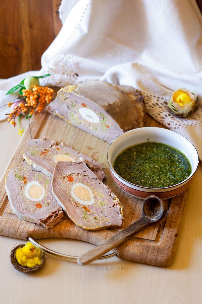 Cima ripiena alla genovese con salsa verde