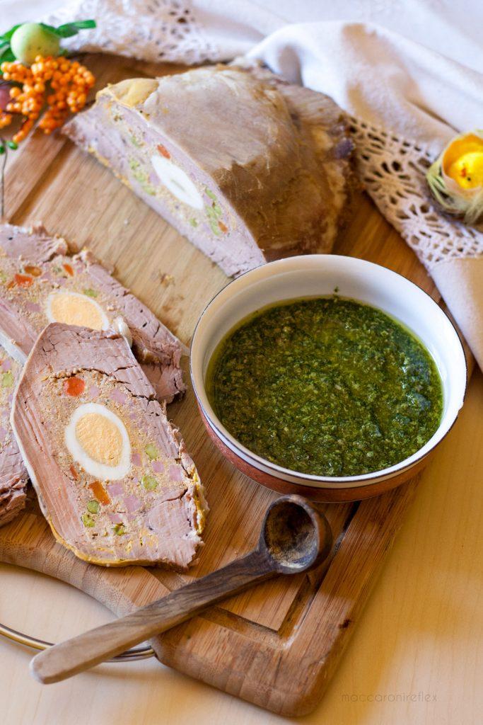 Cima ripiena genovese con salsa verde