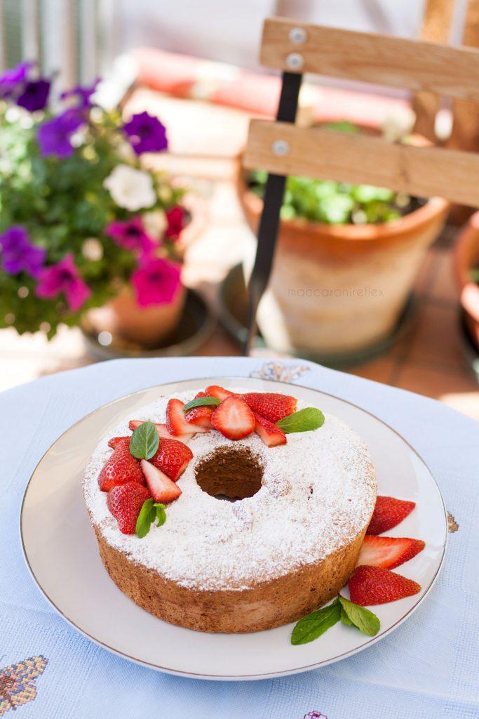 Angel food cake senza cremor tartaro