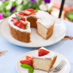 Angel food cake soffice